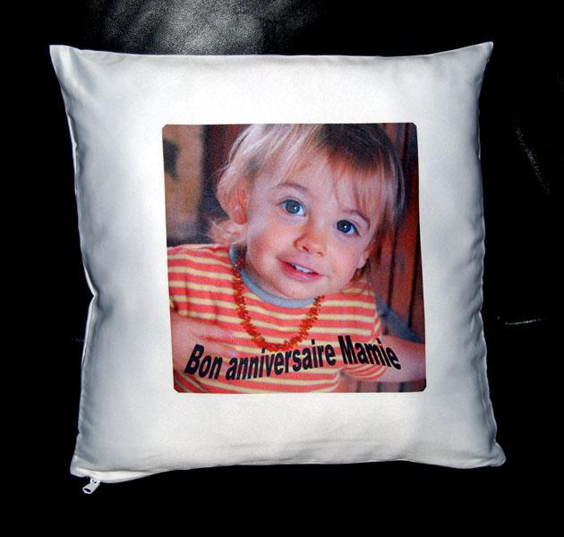 Boutique agdaphoto cadeaux personnalis s avec vos photos - Housse de coussin personnalise ...