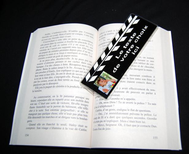 Souvent Marque page photo, personnalisé, idée cadeau photo à personnaliser  JD92