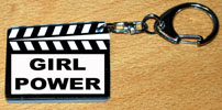 porte-clés CLAP CINEMA GIRL POWER