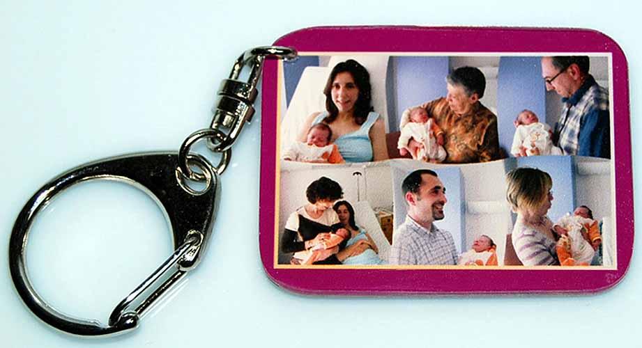 Boutique Agdaphoto Cadeaux Personnalisés Avec Vos Photos Fete - Porte clé avec photo