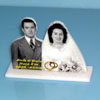 mini photo sculpture mariage (lot de 5)