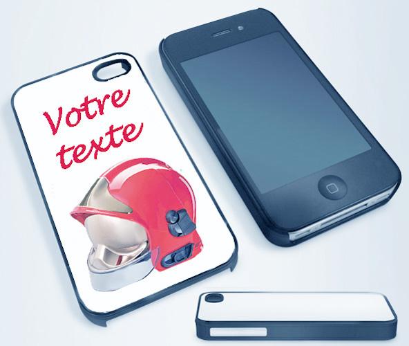 coque iphone 4 pompier