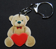 porte-cles ours style peluche